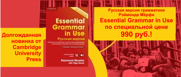 Спец цена на Essential grammar in use